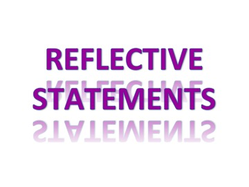 Use reflective statements to enhance communication and decrease conflict