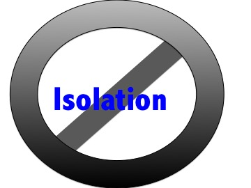 No more isolation