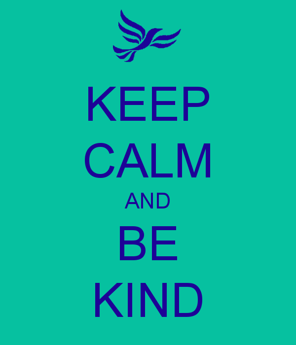 Kindness improves your health!